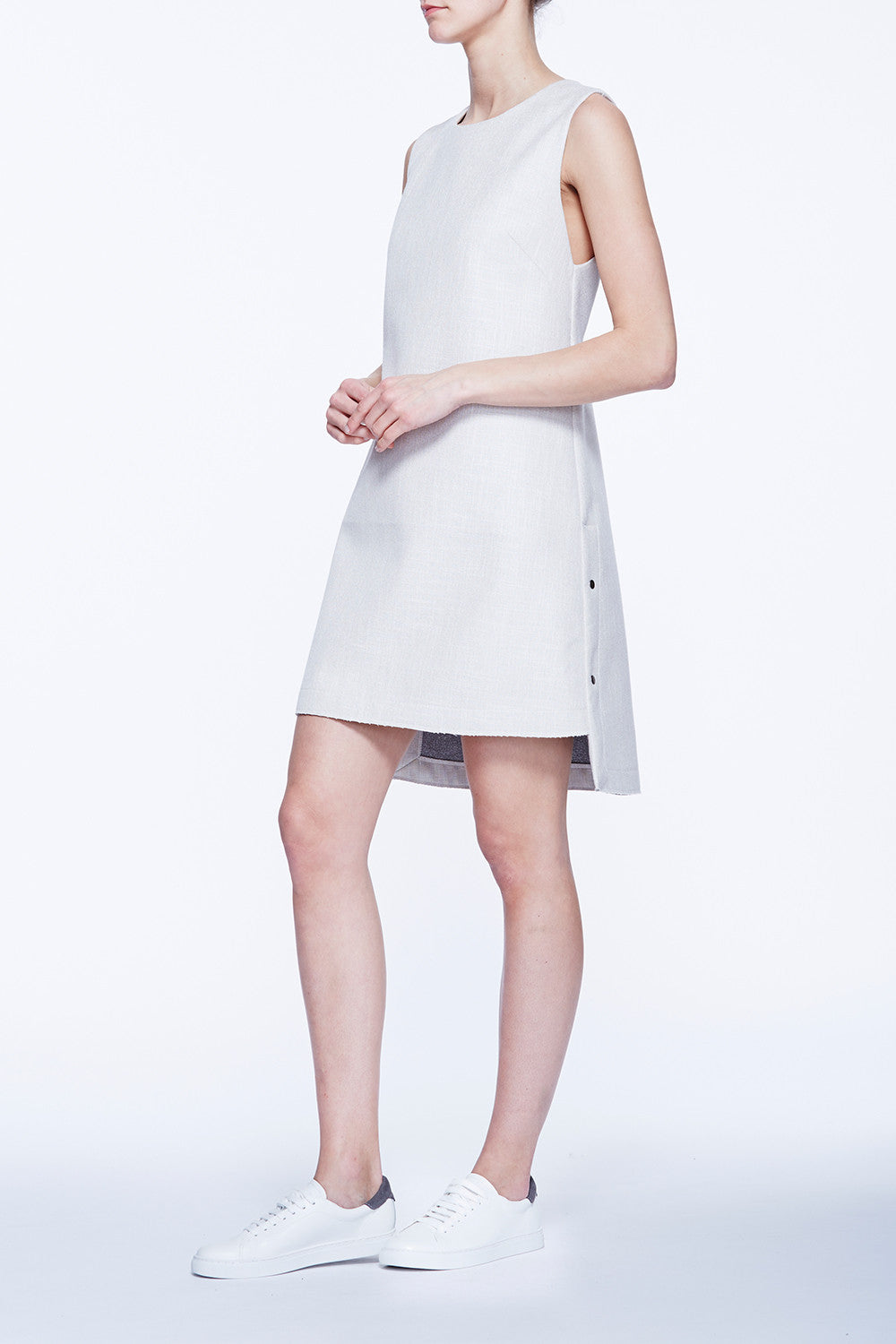 Step Shift Mini Dress