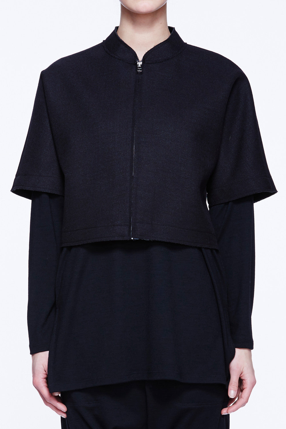 Short Sleeve Boxy Jacket