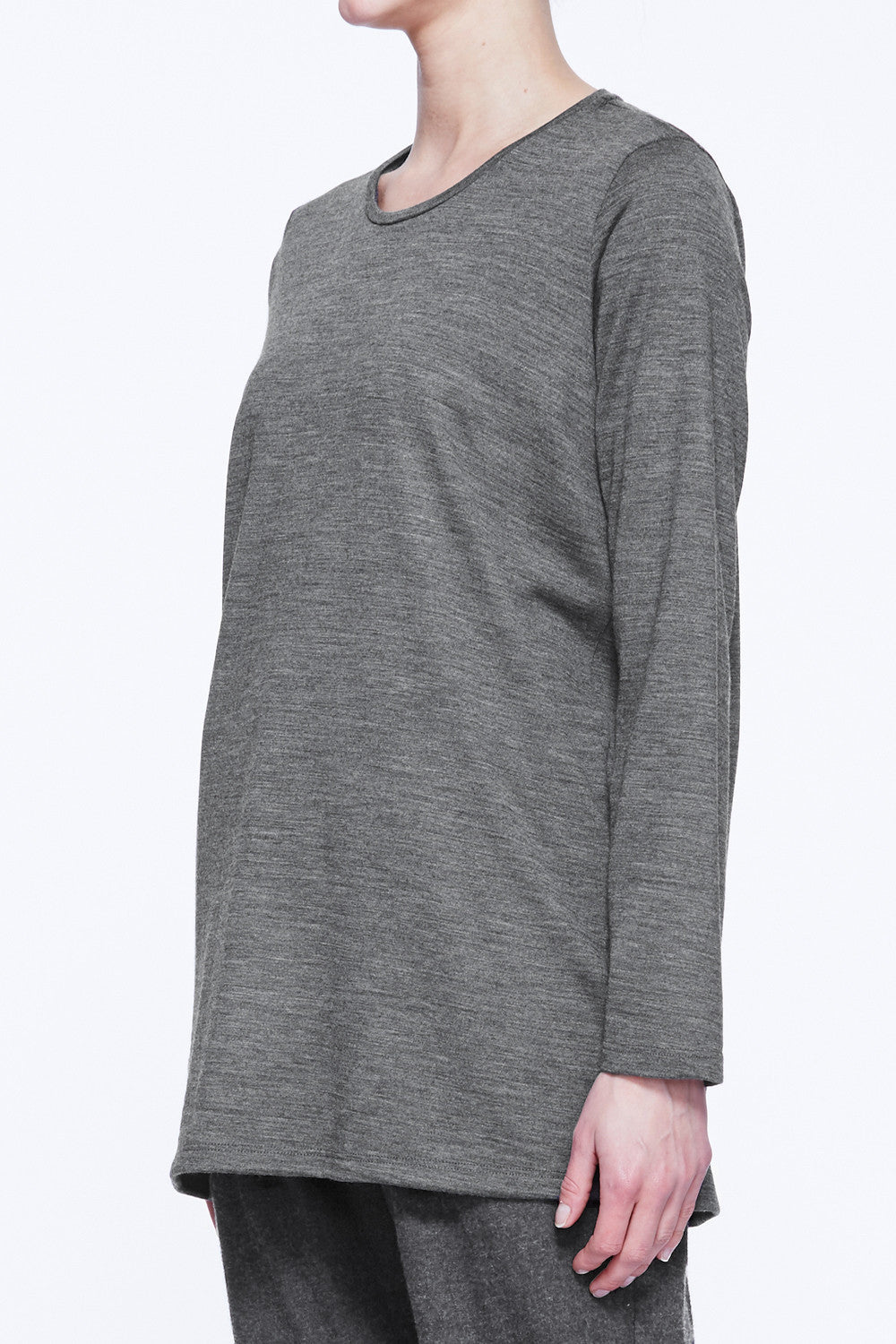 Long Sleeve Side Split Top