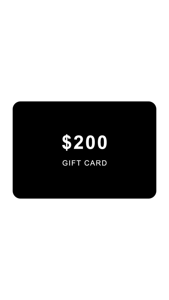 Online Gift Card - $200