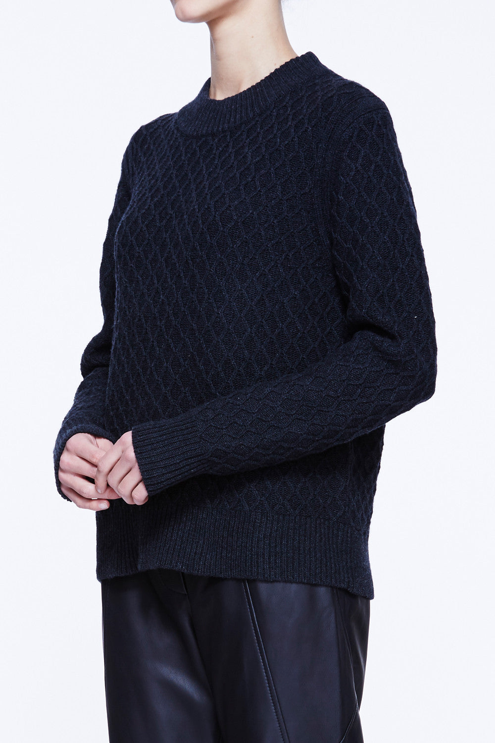 World Is So Cold Knit Sweater