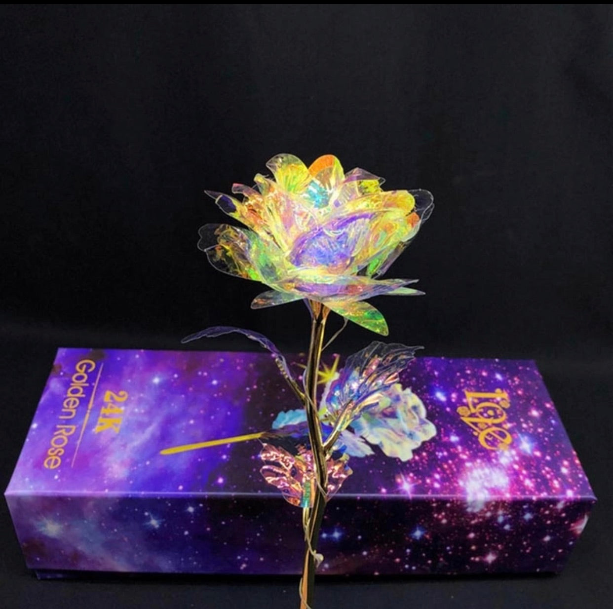Galaxy Rose with Love Base Luminous Rose