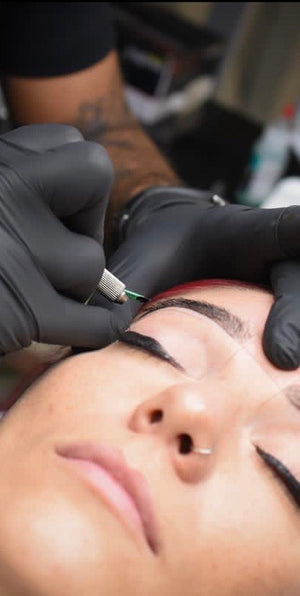 Lame microblading shading