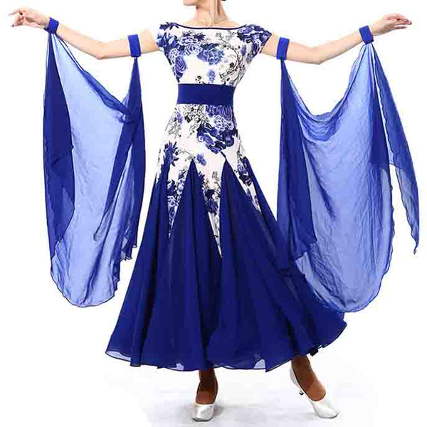 Ballroom Dance Dress Wing