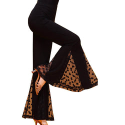 Bell Bottoms Medium Rise Latin/Ballroom Pants