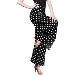 Bell Bottoms Polka Dot Latin/Ballroom Pants