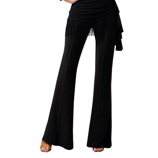 Bell Bottoms Solid Color Latin/Ballroom Pants