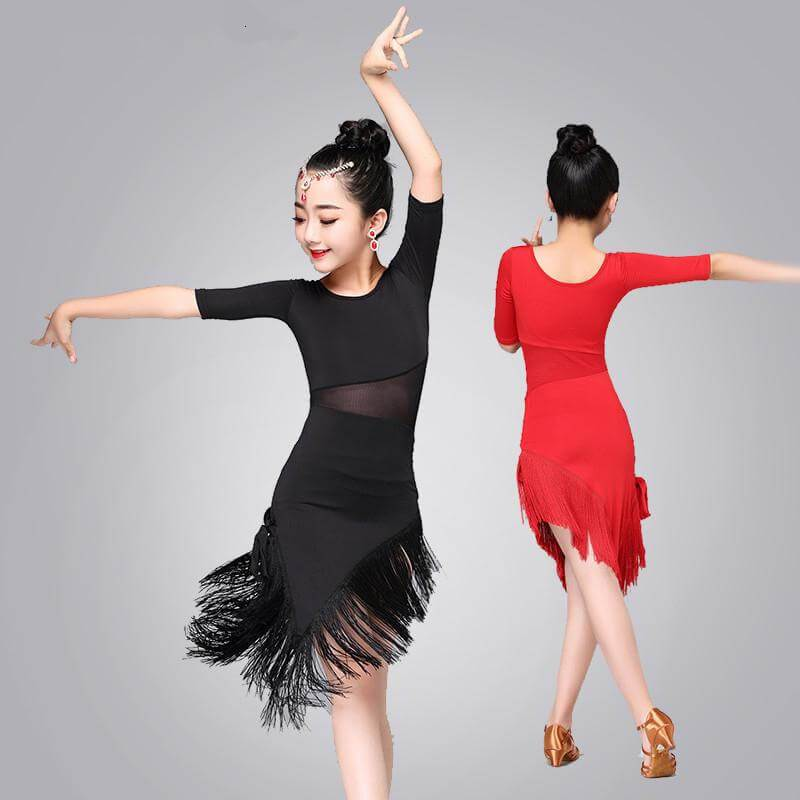 Girls Latin Dance Dress