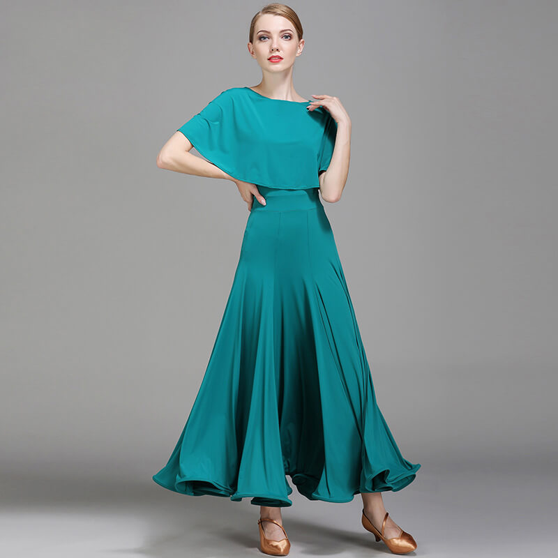 Green Ballroom Dress 1