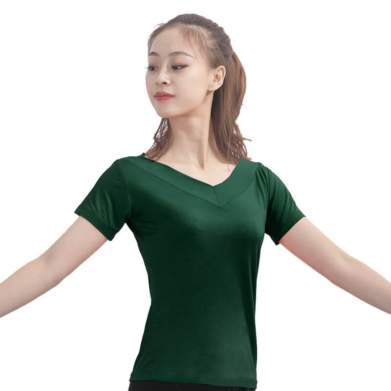 Green dance tops