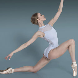 High Neck Sleeveless Ballet Leotard