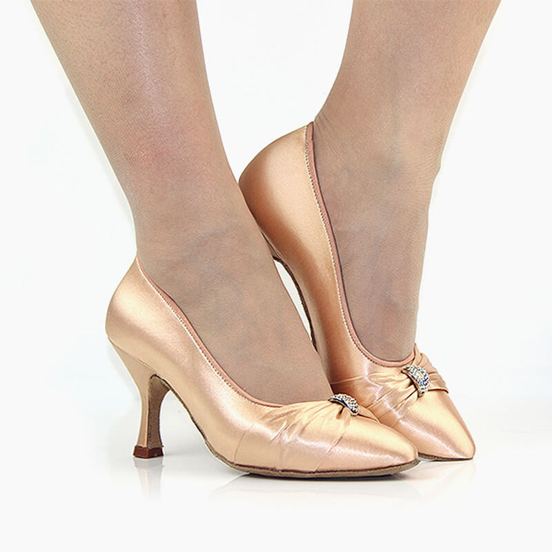 Ivory ballroom shoes 2