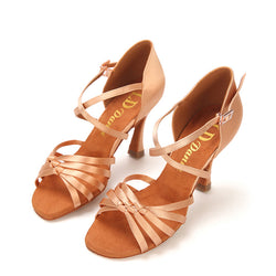 Open Toe Stylish Latin Shoes 2.6""