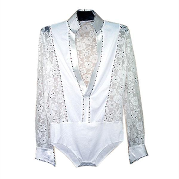 Men dance shirt-white-3