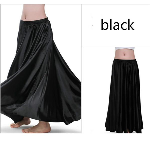 Black Women Contemporary Dance Skirt