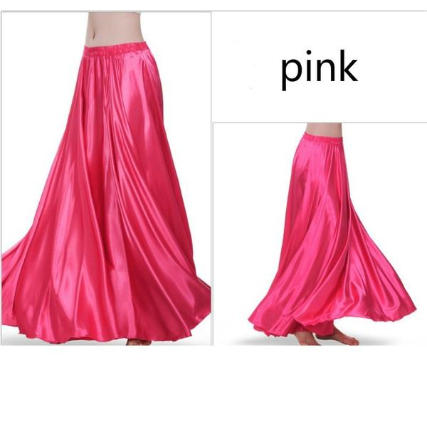 Pink Women Contemporary Dance Skirt