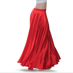 Women Contemporary Dance Skirt-Red