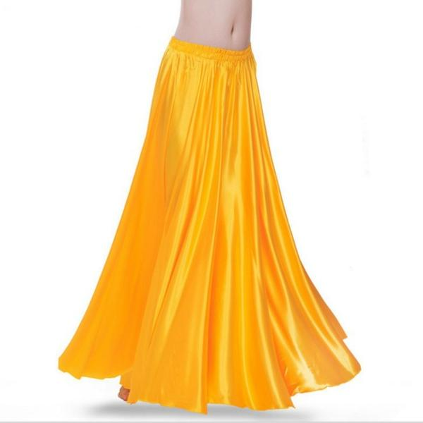 Yellow Women Contemporary Dance Skirt