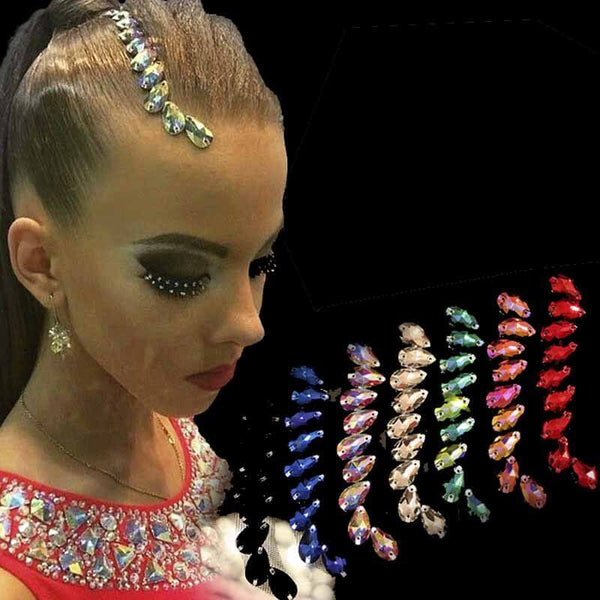 Vintage Crystal Hair Applique