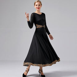 Wild Flared Long Ballroom Dress