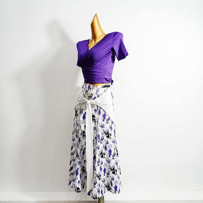 Flared Long Ballroom Skirt