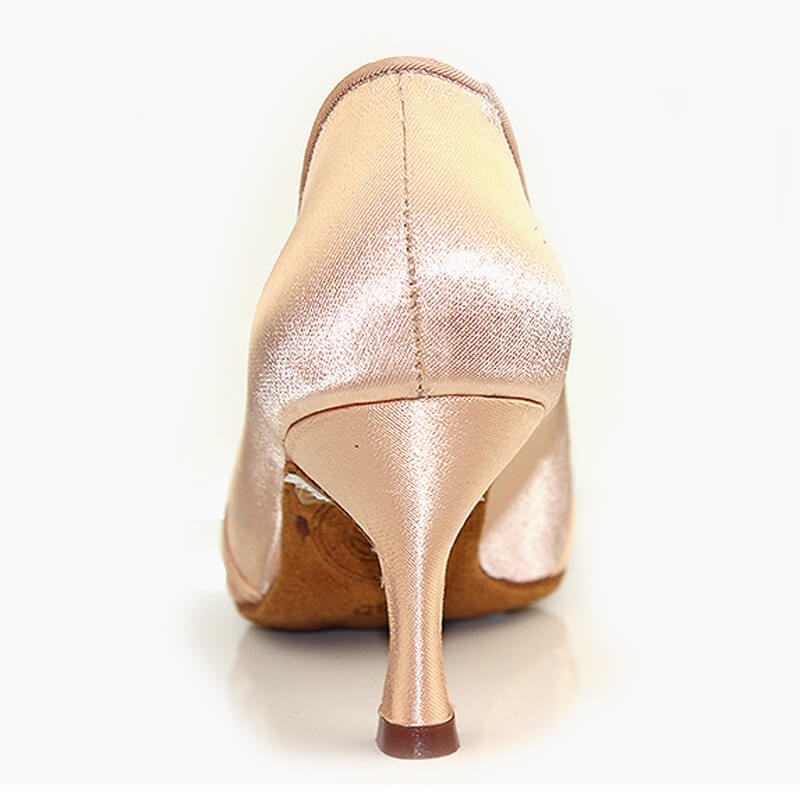 beige ballroom shoes 1