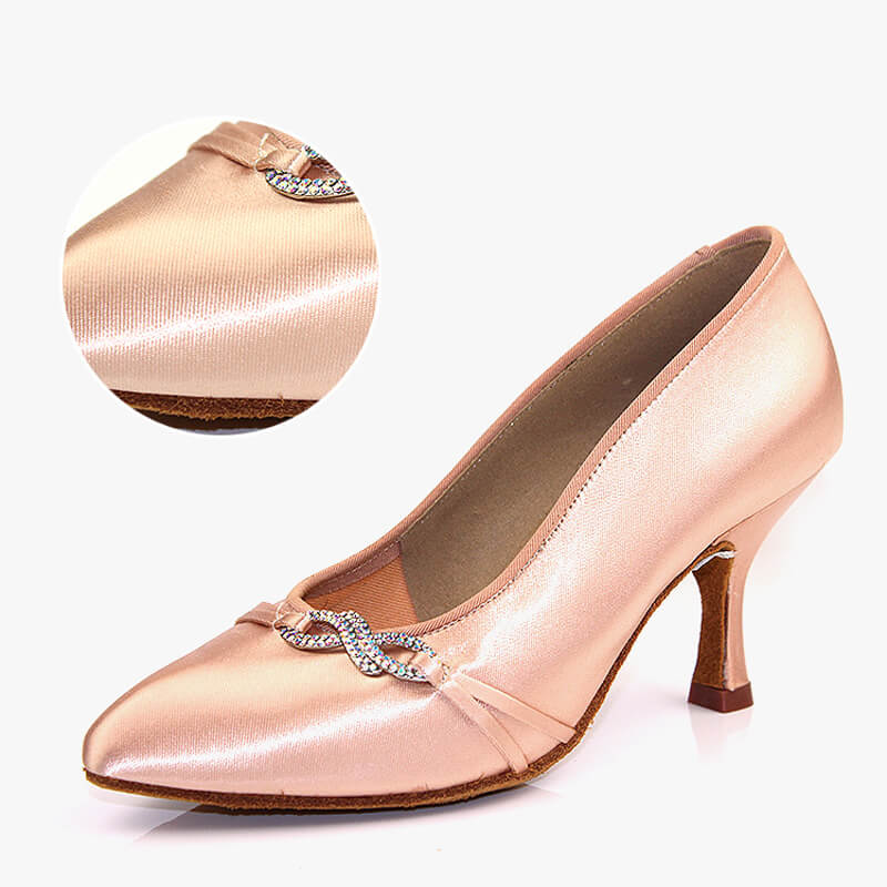 beige ballroom shoes 3