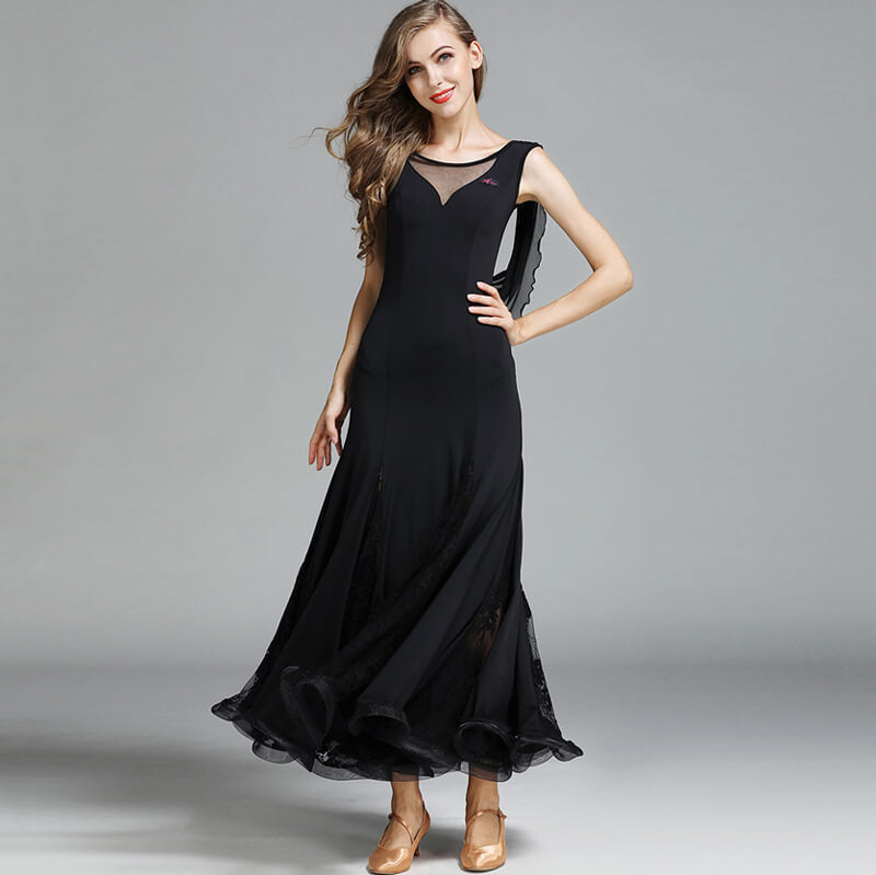 black ballroom dress 1