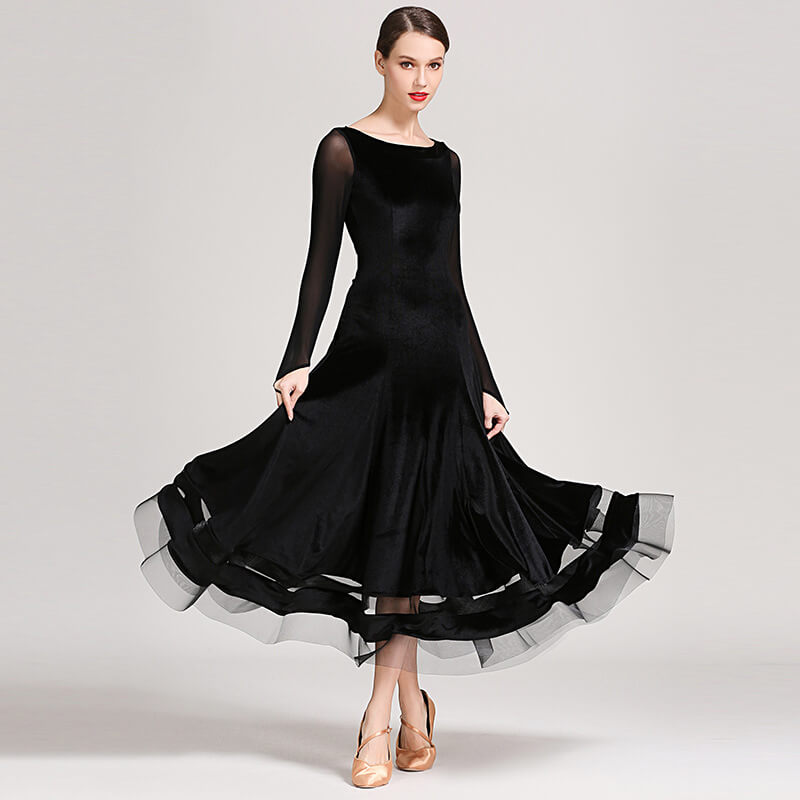 black ballroom dress 2