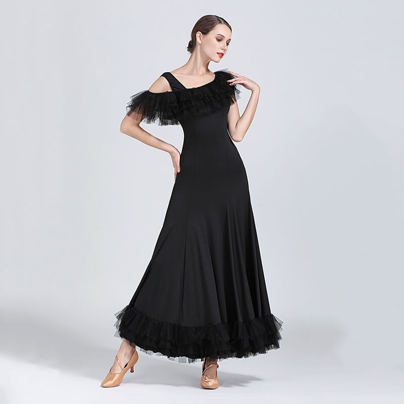 black ballroom dress 3