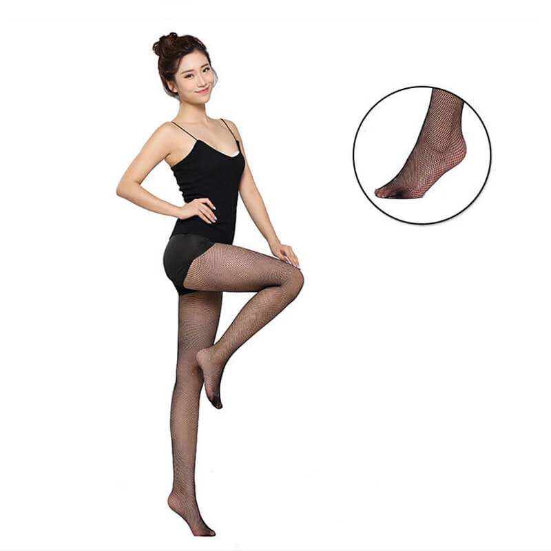 black latin dance tights