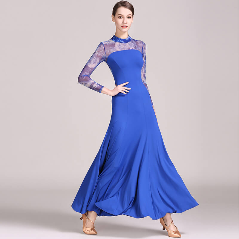 blue ballroom dress 1