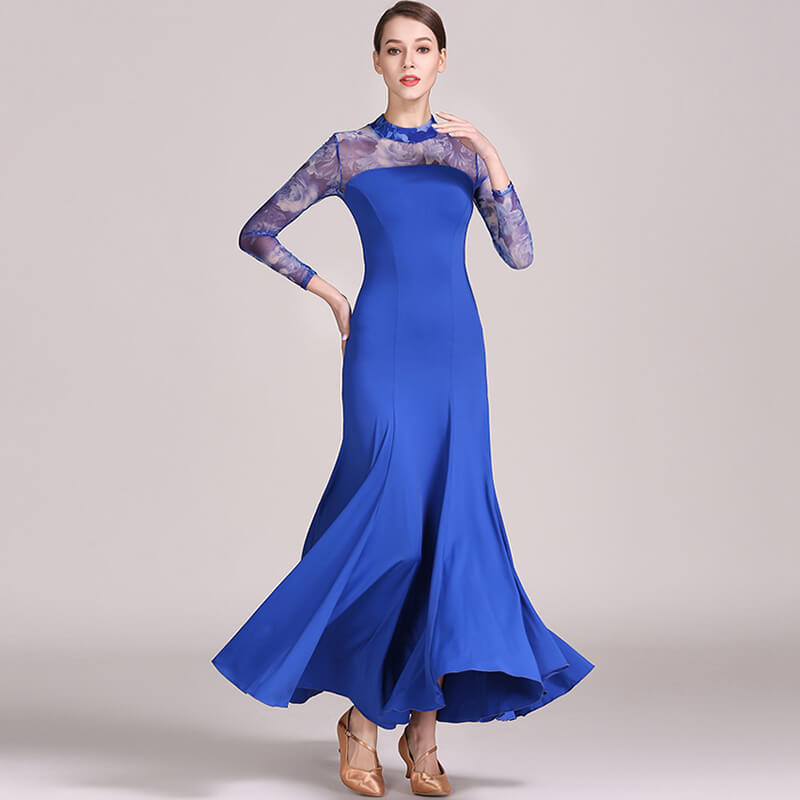 blue ballroom dress 2