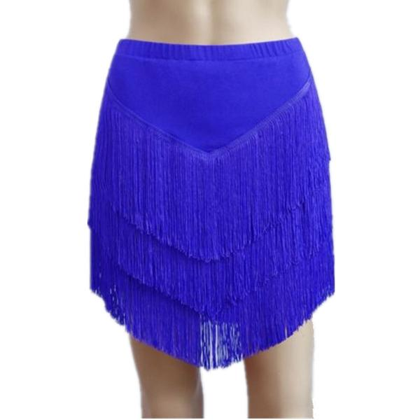 blue latin skirt