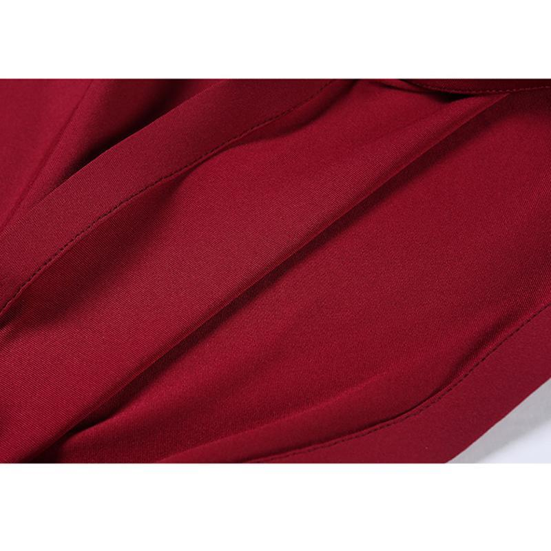 burgundy ballroom dress detail 3