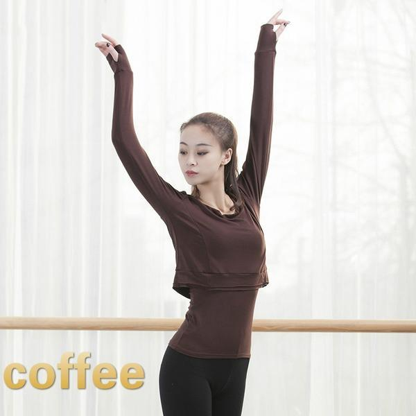 coffee contemporary dance tops