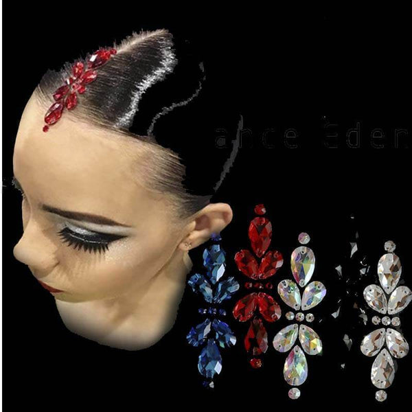 Jeweled Hair Applique