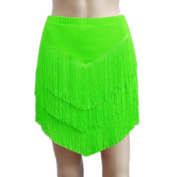 green latin skirt
