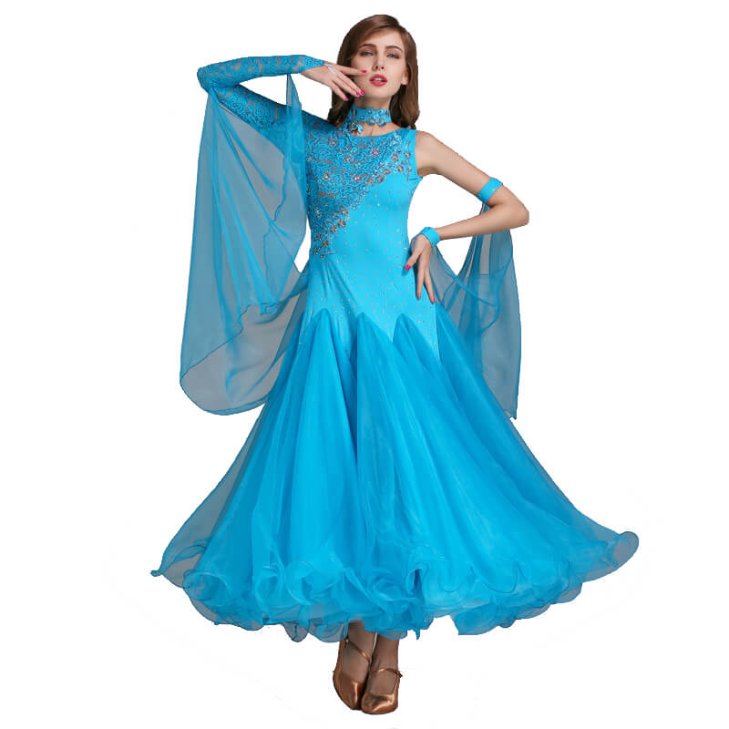 lake blue ballroom dress 1