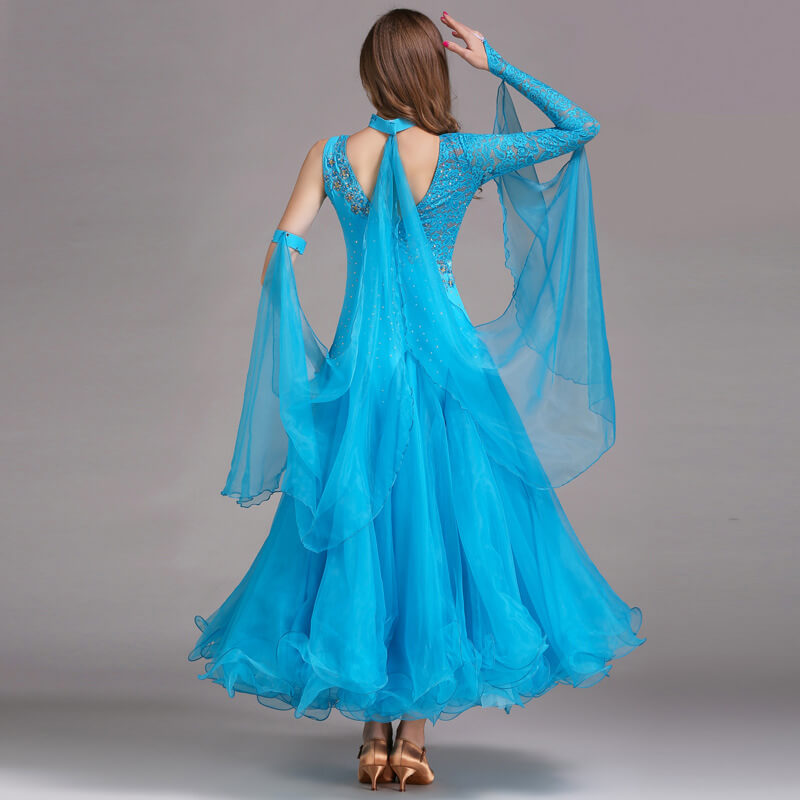 lake blue ballroom dress 2