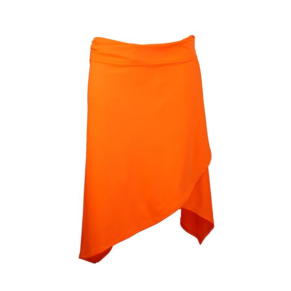 orange latin skirt