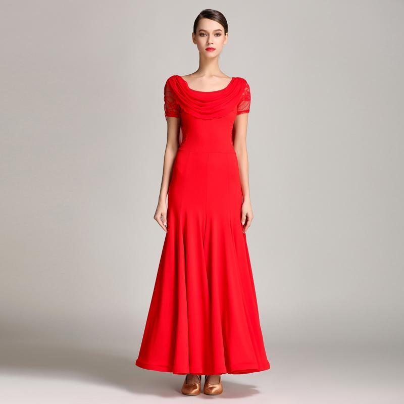 Draped Boat Neck Short Sleeve Dress-red