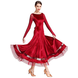 red ballroom dress 1