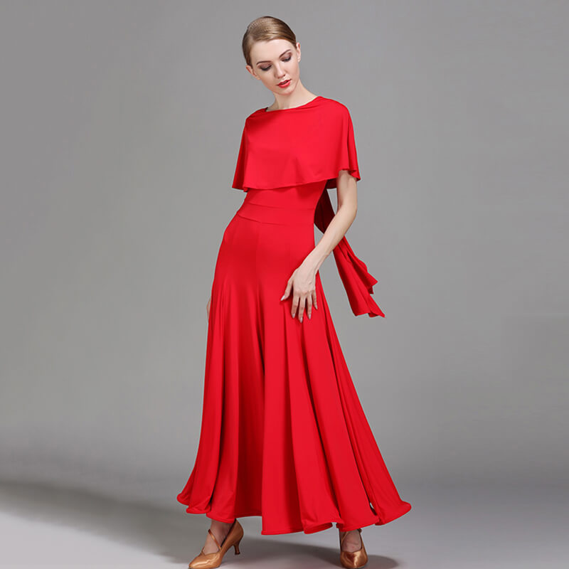 red ballroom dress 2