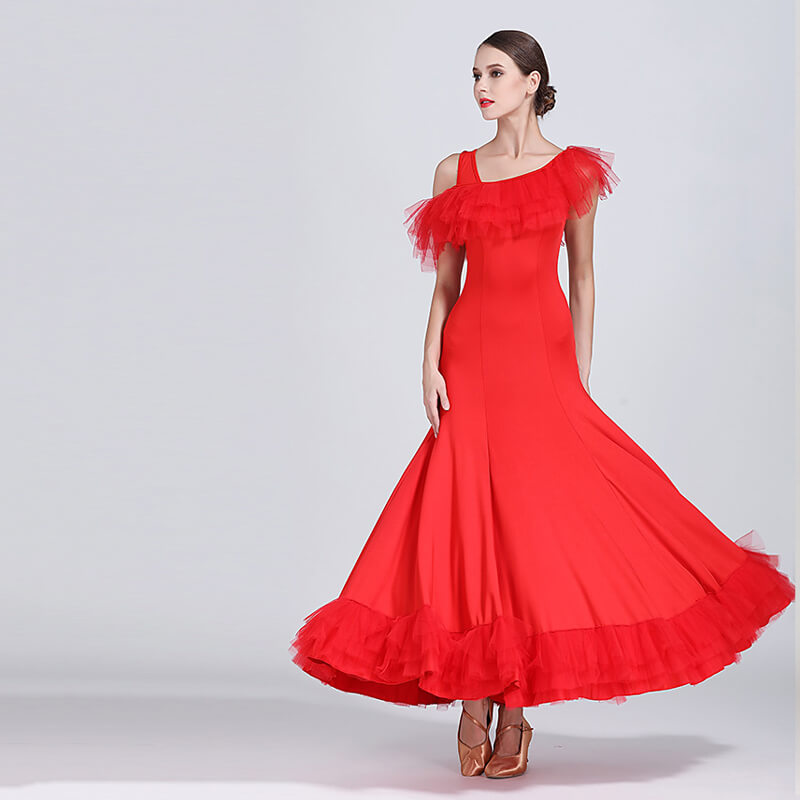 red ballroom dress 3