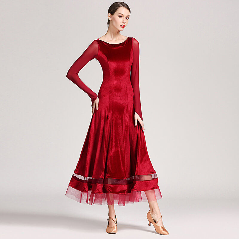 red ballroom dress 4