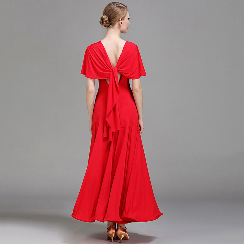 red ballroom dress 5