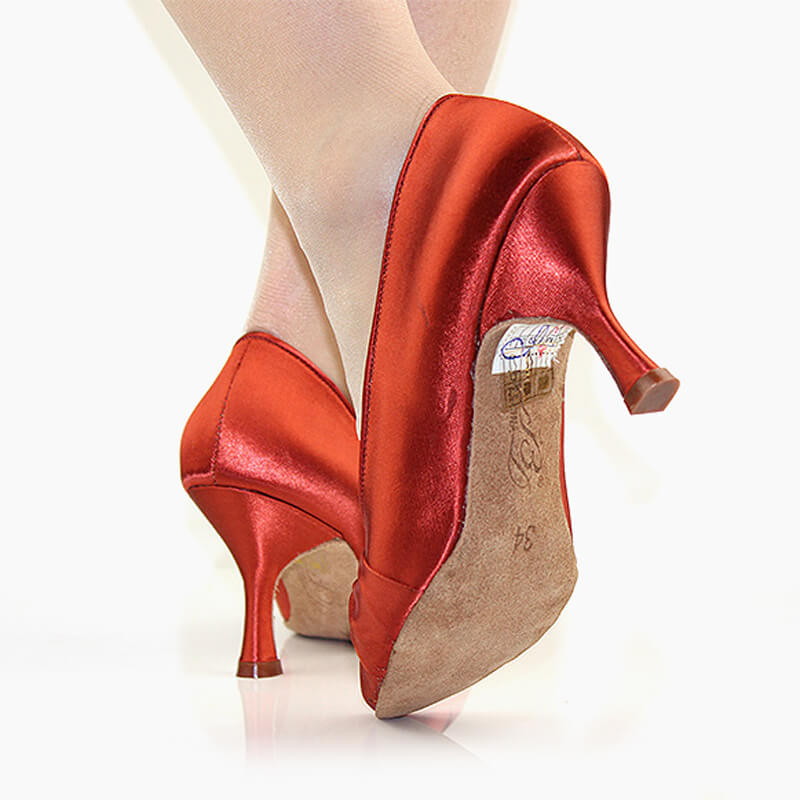 red ballroom shoes2