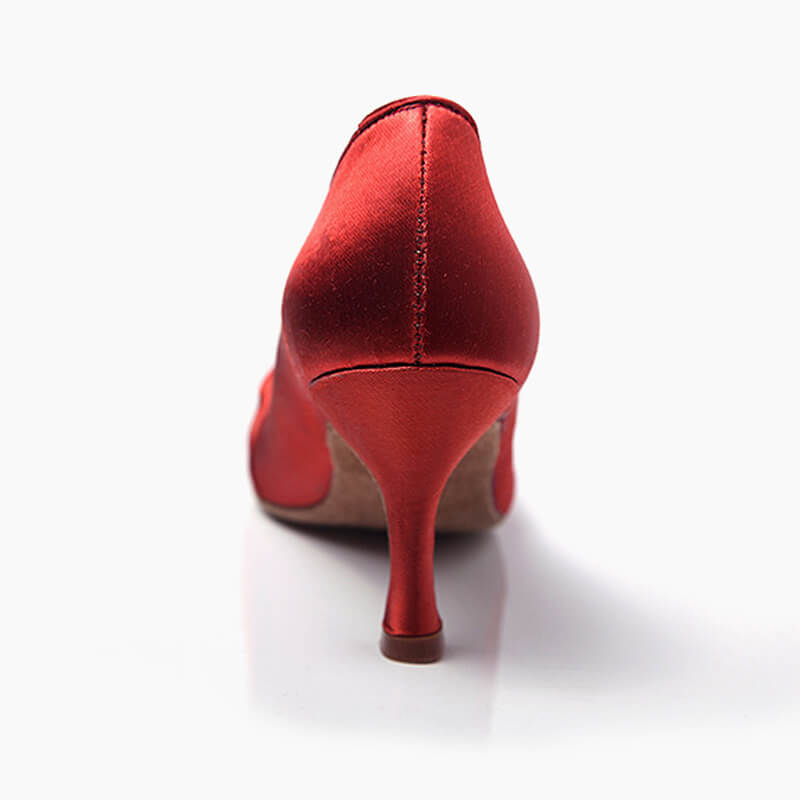 red ballroom shoes5