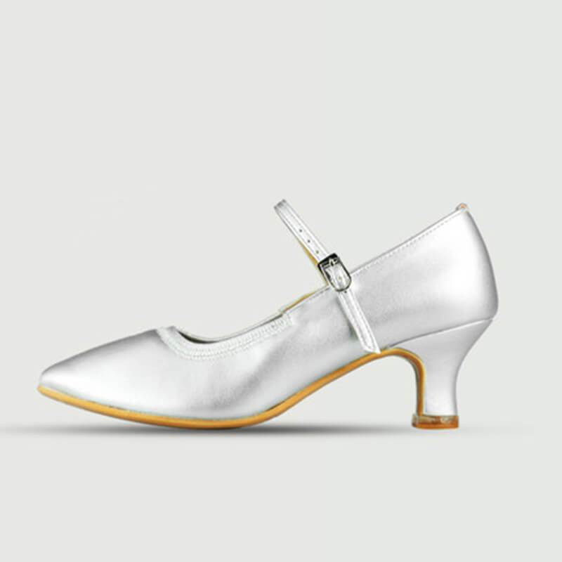 silver ballroom shoes 2